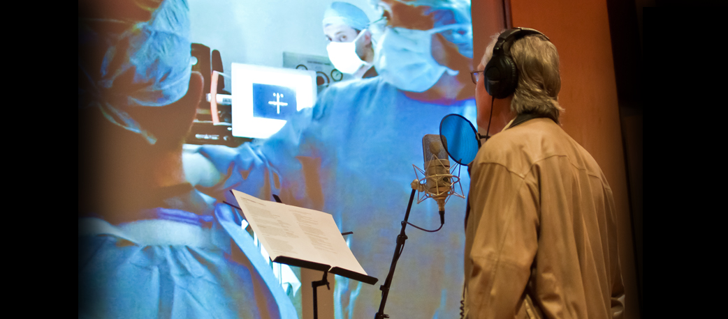 Voice Over, ADR and Foley Recording for Video