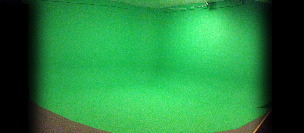 Green Screen Cyclorama Sound Stage